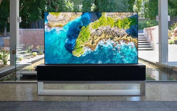 LG выпустила телевизор-рулон за 2,5 млн грн