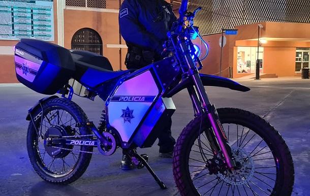 Полиция Мексики начала использовать украинские электробайки